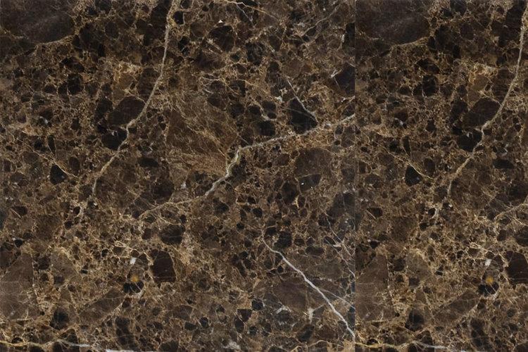 Brun marmor