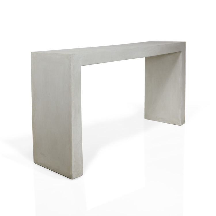 Sidorbord av betong