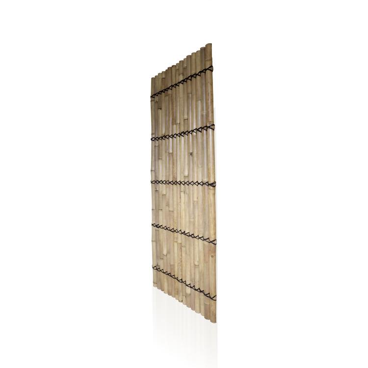 Bambupanel av ljus bambu