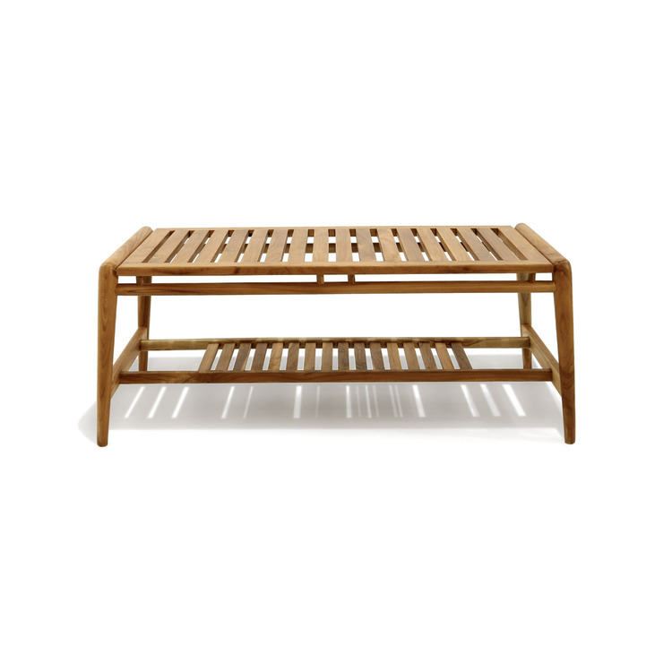 Soffbord utemöbel av trä