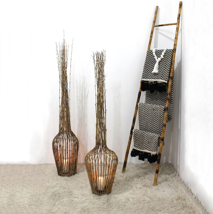 Stående bambudekoration