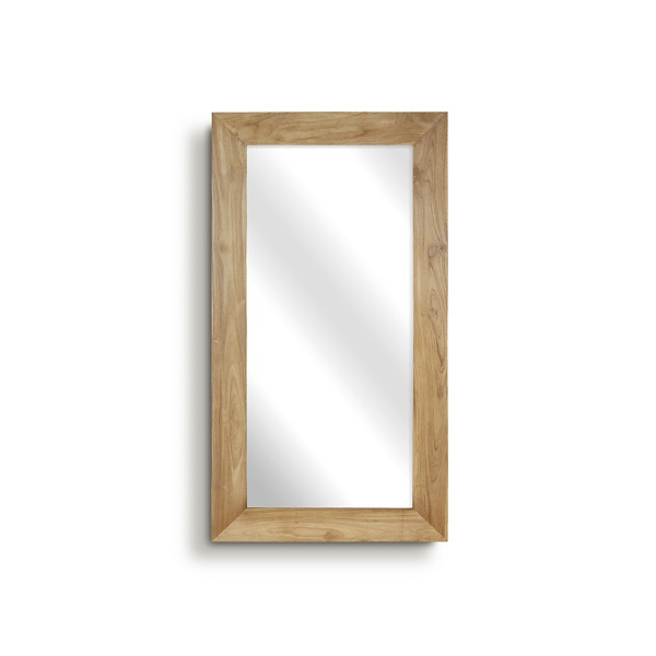 RAW stor spegel träram 150 x 80 cm