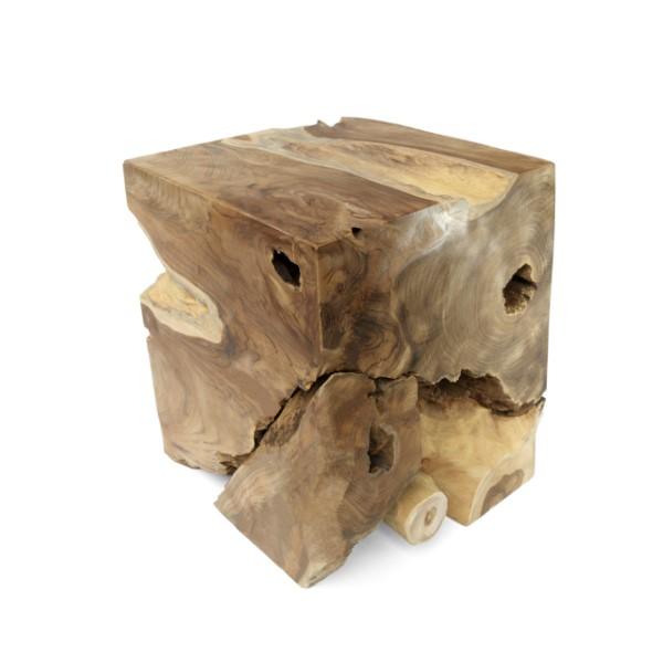 Träpall av naturmaterial