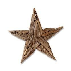 RAW stor stjärna i trä
