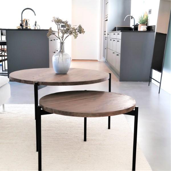 Design soffbord i trä