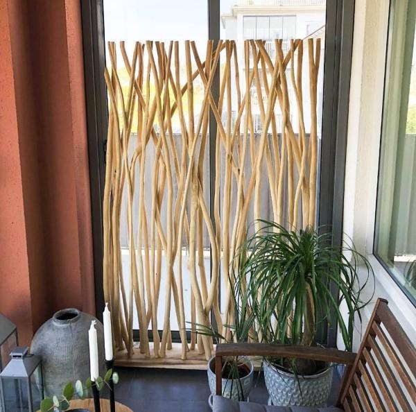 Rumsavdelare insynsskydd för balkong