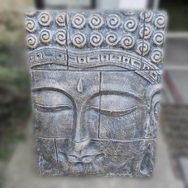 Buddha tavla av fiberbetong