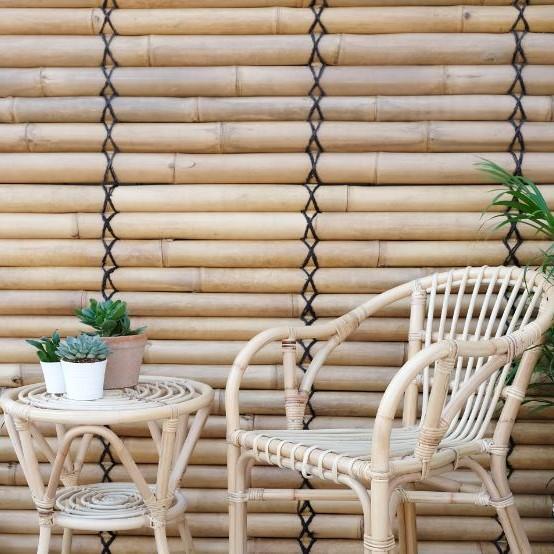 JAVA väggpanel naturell bambu