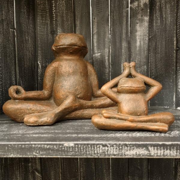 ZEN Meditation Frog Medium