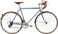 Raleigh Devon Road Herr Claris 16g Kaliper 56cm Mattblå blå/silver