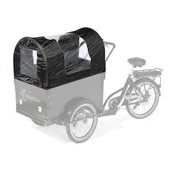 Cargobike 4-barns kapell inkl.bågar