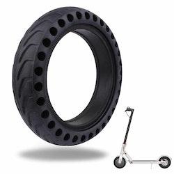 """Punkteringsfritt """"Honeycomb"""" däck till scooter med 8,5"""" hjul - Xiaomi 365/Pro m.fl"""