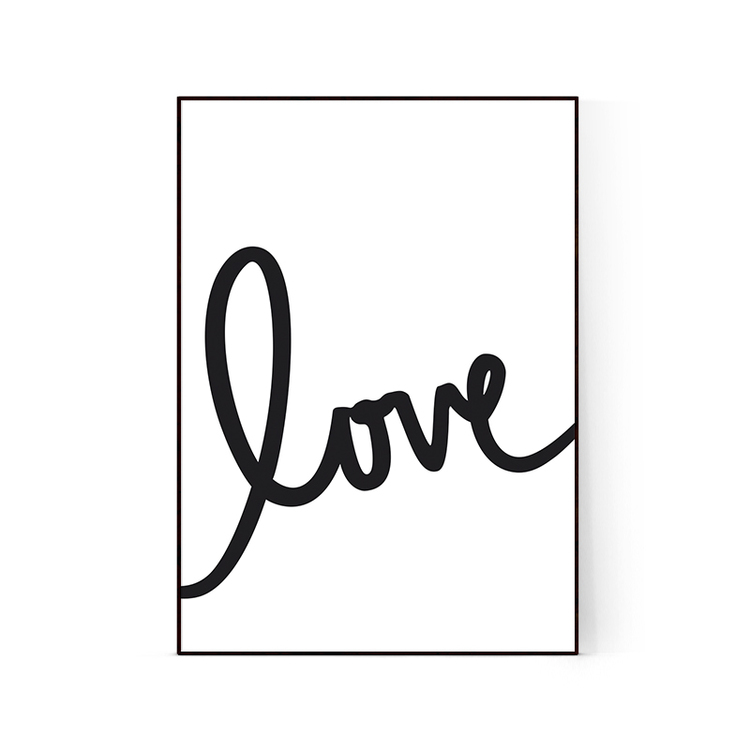 "Poster ""Love2"""