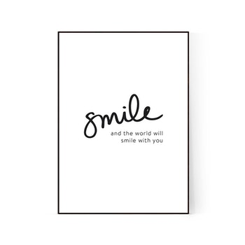 """Poster """"Smile"""""""