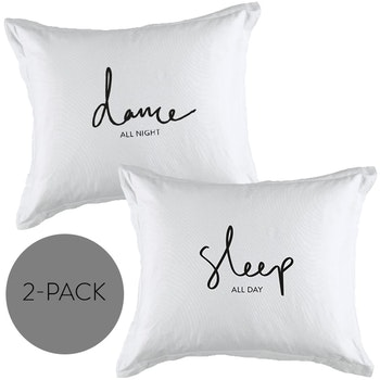 "Örngott 2-pack ""Dance+Sleep"""