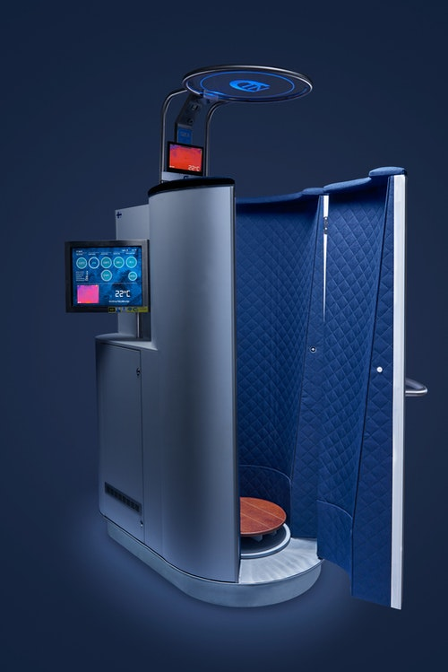 1 st CryoCabin-behandling