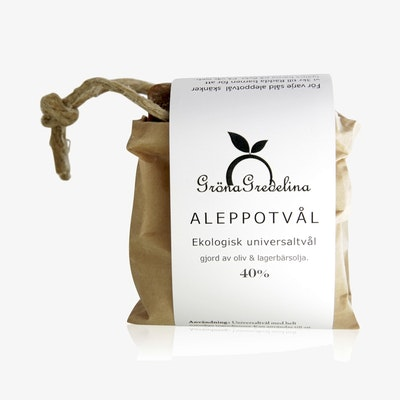 Aleppotvål 40% lagerbärsolja