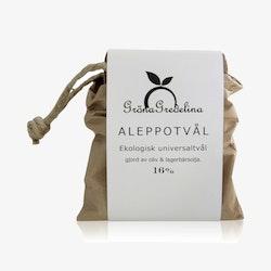 Aleppotvål 16% lagerbärsolja