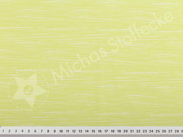 Öko-tex Stretchjersey ränder lime-gul 1m