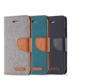 Mobilplånbok i tyg för iPhone 7