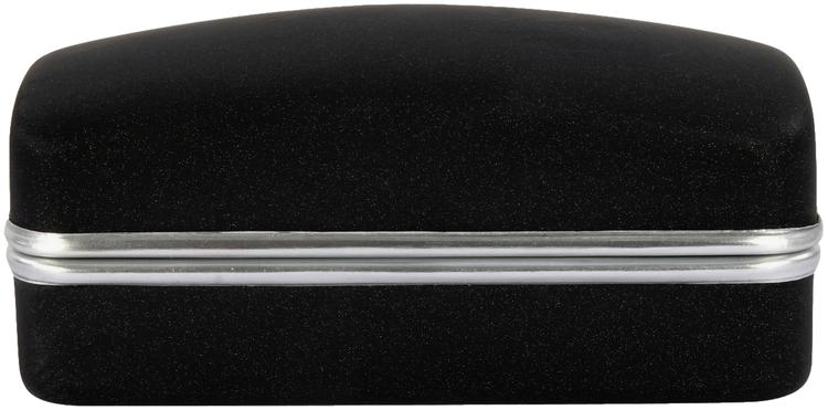 Lång slipsklämma - Silver - 65mm