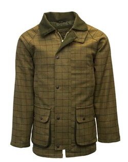 Derby tweed country jacket-Beige