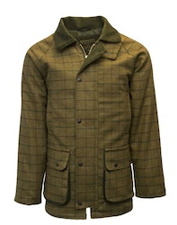 Derby tweed country jacket-Beige