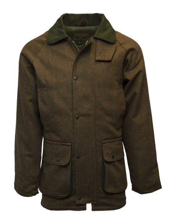 Derby tweed country jacket-Brown