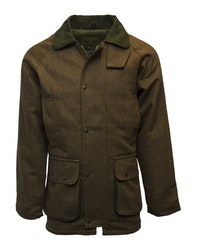 Derby tweed country jacket-Brown