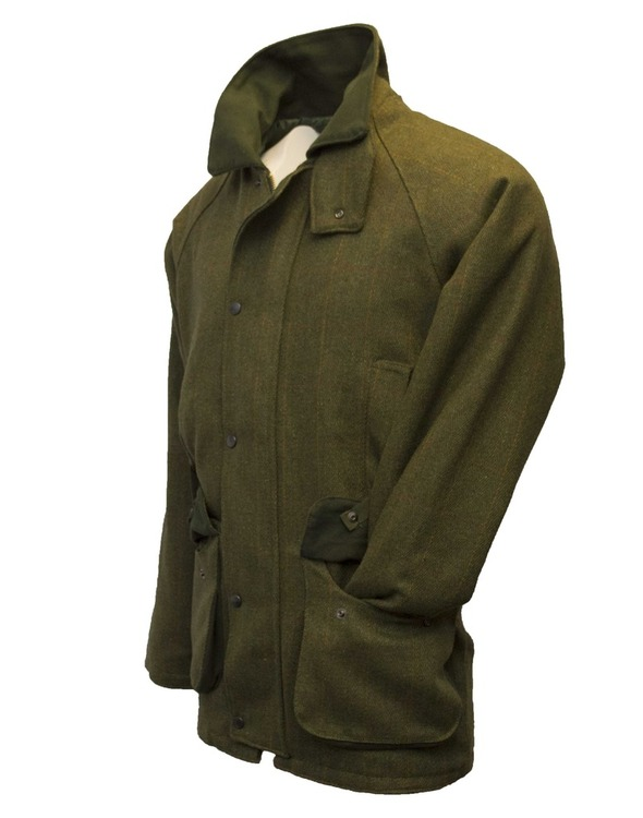 Derby tweed country jacket-Dark Green