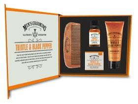 Thistle & Black Pepper Ansikts- och skäggvårdskit - The Scottish Fine Soaps