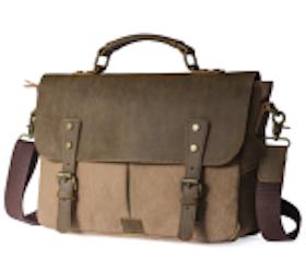Messengerbag, brun