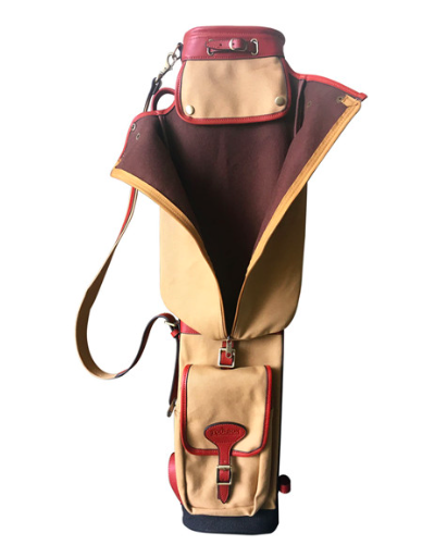 Golfbag Canvas & Leather