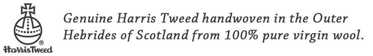 Klockarmband Hardwick Harris Tweed