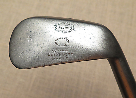 Deepfaced Mashie - D.Anderson & Son