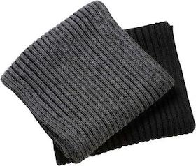 Ribbstickad halsduk - Mendon