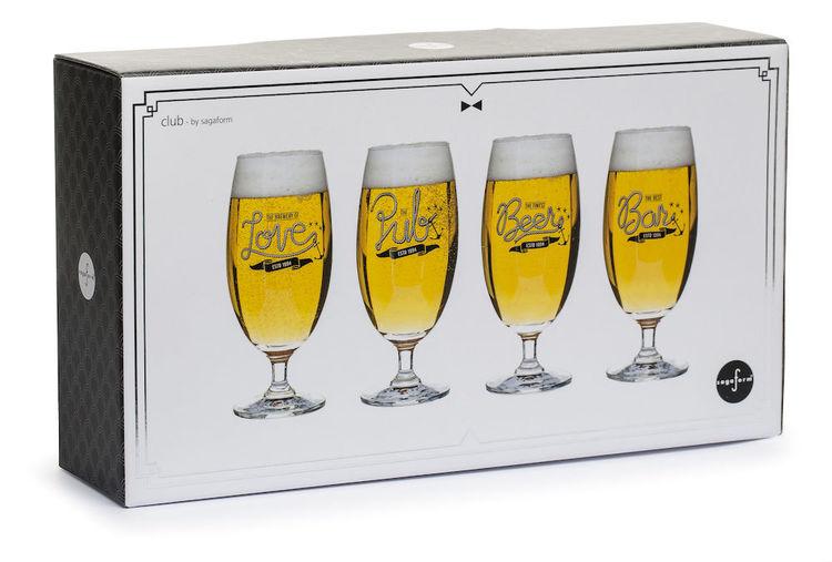 Ölglas 4-pack - Sagaform