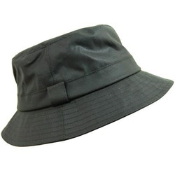 Vaxad hatt - Olive