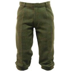Mörkgröna tweed knickers - Derby