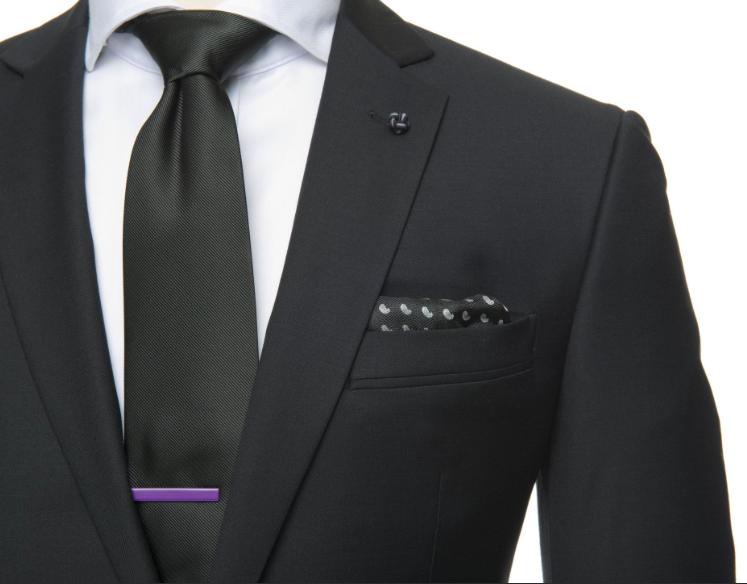 6 slipsnålar i olika färger