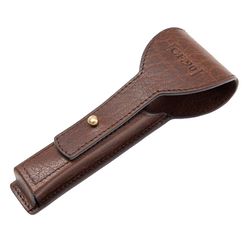 Handcrafted Leather Razor Case - Captain Fawcett
