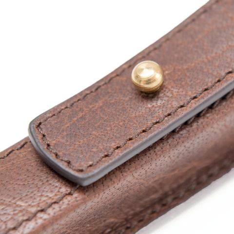 Handcrafted Leather Razor Case - Captain Fawcett