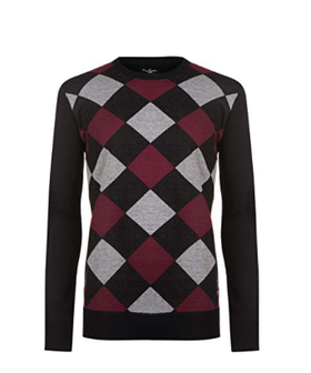 Argyle pullover - Pierre Cardin