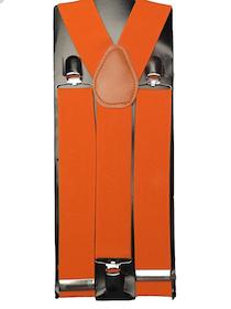 Hängslen Orange 35mm