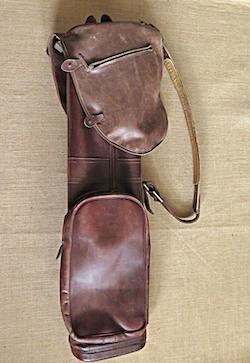 Golfbag - Läder