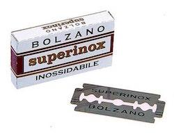 Bolzano Superinox dubbelsidiga raklblad