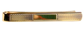 Lång slipsnål - Guld - 55mm