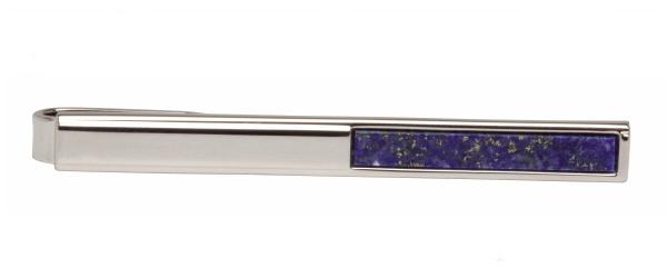 Slipsnål - Silver och Lapis Lazuli - 50mm