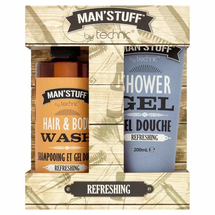 Man'Stuff Refreshing Gift Set