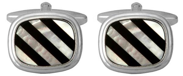 Manschettknapp - Stripes